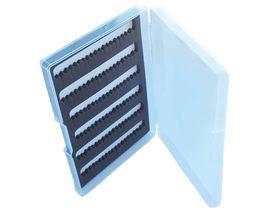 Коробка для мушек пластиковая односторонняя 12,5х8,5х2 см