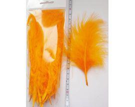 Перья марабу Orange