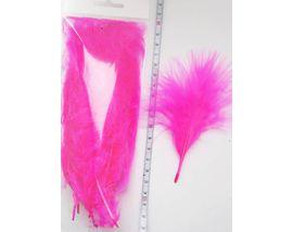 Перья марабу Pink