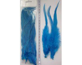 Перья петуха синие