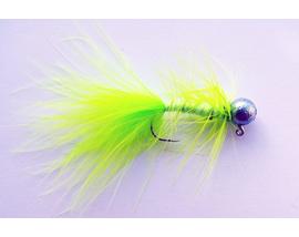 Джиг-мушка Woolly Bugger Chartreuse
