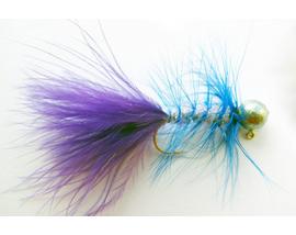 Джиг-мушка Woolly Bugger Violette