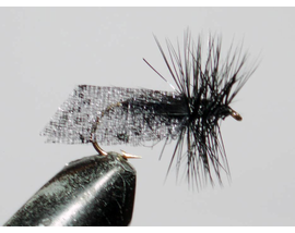 мушка Caddis black
