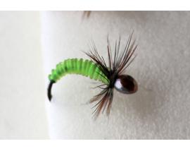 Мушка мормышка Chartreuse Silicon