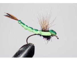 мушка стрекоза Mayfly green