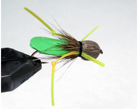 мушка Кузнечик Hopper Foam green