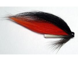 Лососевая мушка Orange-Black Glow