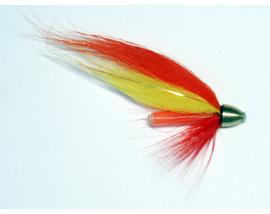 Лососевая мушка Yellow-Orange 1