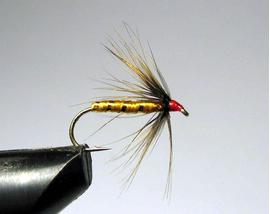 нимфа Orange Fish Hawk