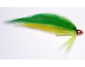 Лососевая мушка Yellow-Green 1