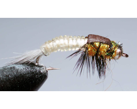 Нимфа Stonefly lt. brown