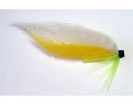 Лососевая мушка White-Yellow