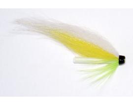 Лососевая мушка Yellow-White Glow
