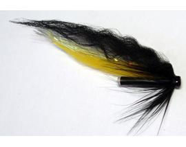 Лососевая мушка Yellow-Black