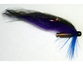Лососевая мушка Violet-Black Bullet