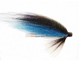 Лососевая мушка Blue-Black