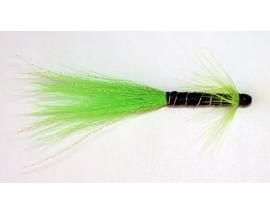 Лососевая мушка Shnelda Green-Black