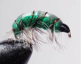 Бокоплав ярко зеленый модель 2