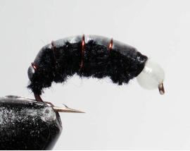 Бокоплав черный модель 3