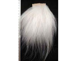 Мех козы серебрянки белый