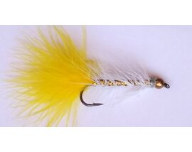 Стример Woolly Bugger желто-золотой