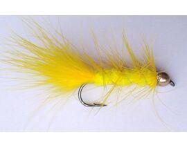 Стример Woolly Bugger желтый