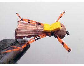 Кузнечик из пенки коричневый