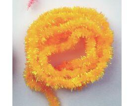 Ice синель оранжевая