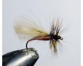 мушка CDC ручейник коричневый