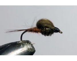 мушка CDC эмерджер коричневый