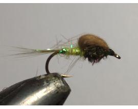 мушка CDC эмерджер оливковый