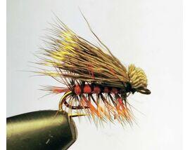 Мушка на двойнике Elk Hair Orange