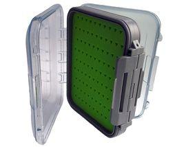 Коробка для мушек пластиковая 12х9х4 cм