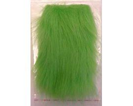 Искусственный мех зеленый
