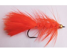 Стример Woolly Bugger orange