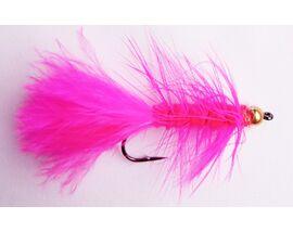 Стример Woolly Bugger розовый