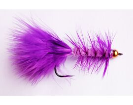 Стример Woolly Bugger violet