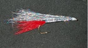 Стример Angel Hair Fish silver