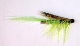 Лососевая мушка Ally`s Shrimp Green