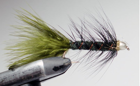 Стример Woolly Bugger olive