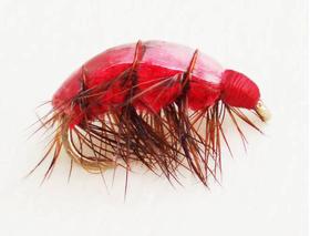 Бокоплав красный модель 2