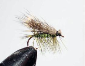 мушка Elk hair olive
