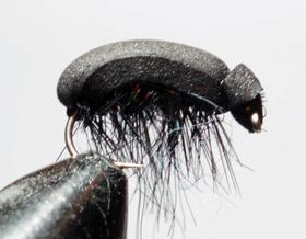Мушка Beetle black