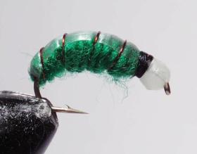 Бокоплав ярко-зеленый модель 3