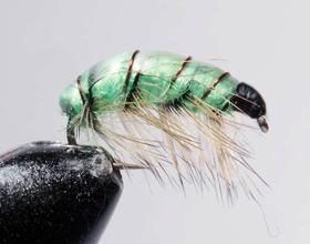 Бокоплав зеленый модель 2