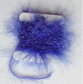 Polar chenille blue