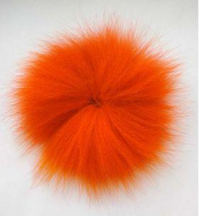Мех песца оранжевый