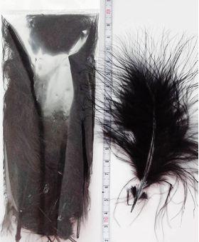 Перья марабу Black