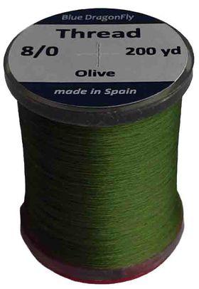 Нить монтажная оливковая