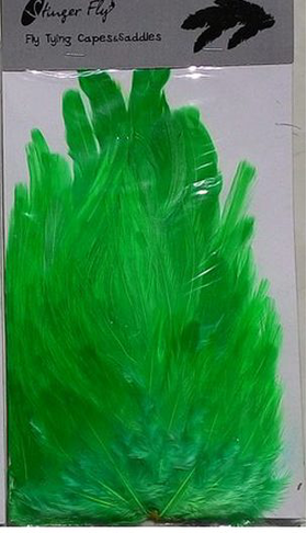Скальп Cock Saddle Chartreuse